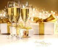 Vidros do champanhe Foto de Stock