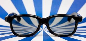 vidros do filme 3d Imagem de Stock
