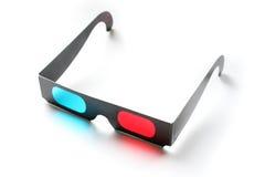 vidros do filme 3D Imagens de Stock