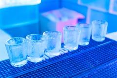 Vidros do gelo Imagem de Stock Royalty Free