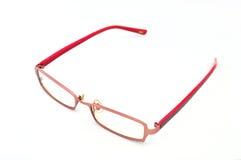 Vidros do olho no fundo branco Imagens de Stock Royalty Free