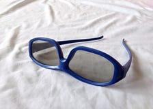 Vidros do olho roxo no branco Foto de Stock Royalty Free