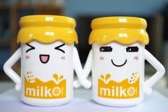 Vidros do sorriso Imagem de Stock Royalty Free