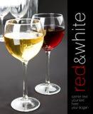 Vidros do vinho Fotos de Stock Royalty Free