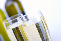Vidros do vinho Imagens de Stock Royalty Free