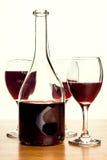 Vidros do vinho tinto Fotos de Stock Royalty Free