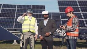 Vidros e energias solares de Vr Foto de Stock Royalty Free