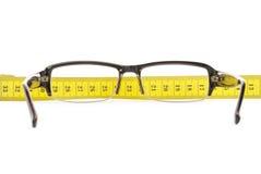 Vidros e medição Imagens de Stock Royalty Free
