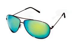 Vidros elegantes à moda com camaleão das lentes Foto de Stock Royalty Free