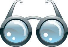 Vidros estilizados lustrosos Imagem de Stock