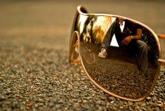 Vidros modernos Fotografia de Stock Royalty Free