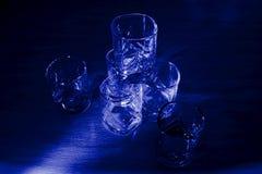 vidros na luz Imagens de Stock Royalty Free