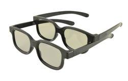 Vidros para os filmes 3D Fotografia de Stock