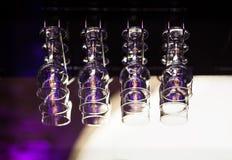 Vidros para um vinho fortificado Fotografia de Stock Royalty Free