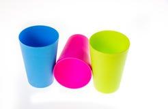 Vidros plásticos Foto de Stock