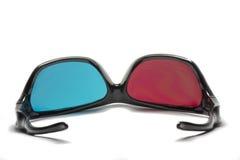 Vidros polarizados para ver o 3D Fotografia de Stock