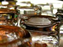 Vidros vazios Imagem de Stock