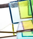 Vidros velhos coloridos Fotos de Stock Royalty Free
