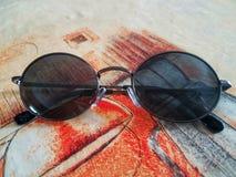 Vidros velhos do lenon Imagem de Stock
