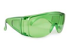 Vidros verdes da segurança Imagens de Stock Royalty Free