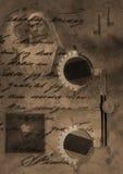 Vidros ww2 ilustração do vetor