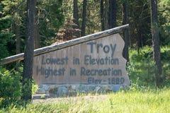 Vidsträckta sceniska montana statlandskap och natur Royaltyfria Foton