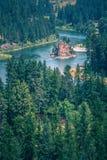 Vidsträckta sceniska montana statlandskap och natur Royaltyfri Fotografi