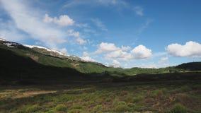 Vidsträcktheten av Altai stock video