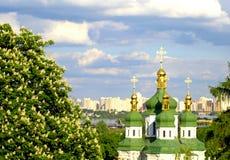 Vidubichi monastery Stock Photo