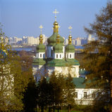 Vidubichi monastery. Kyiv, Ukraine. Royalty Free Stock Photo