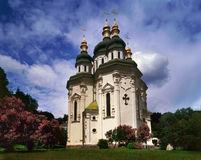 Vidubitsky Monastir Stock Photography