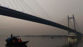 Vidya sagar bridge, Kolkata Stock Image