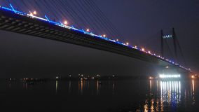 Vidya Sagar most Zdjęcie Royalty Free