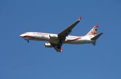 Vie aeree Boeing 737 di XL Fotografia Stock Libera da Diritti