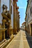 Vie antiche del Portogallo Fotografia Stock Libera da Diritti
