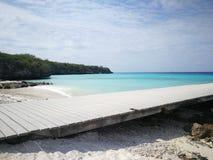 Vie attraverso la spiaggia Immagine Stock Libera da Diritti