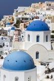 Vie bleue de dôme Photographie stock