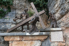 Vie crucis Stock Photo