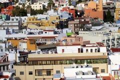Vie dans la petite ville Photo libre de droits
