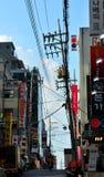 Vie dans la rue de Gangnam à Séoul Photos stock