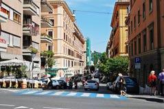Vie dans la rue de ville de Rome le 30 mai 2014 Photos stock