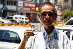 Vie dans la rue - Yangon, Myanmar Images libres de droits