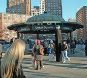 Vie del quadrato del sindacato di New York immagini stock libere da diritti