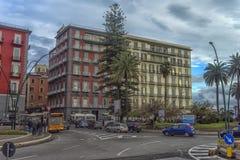 Vie della città nel centro urbano Fotografia Stock Libera da Diritti