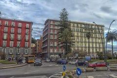 Vie della città nel centro urbano Immagini Stock Libere da Diritti