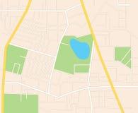 Vie della città - piano Illustrazione Vettoriale