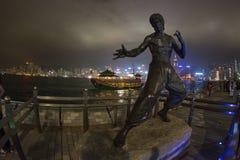 Vie delle stelle di Hong Kong Immagini Stock Libere da Diritti