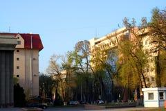 Vie di Almaty Immagine Stock