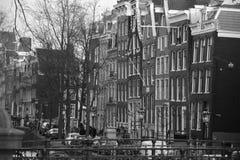 Vie di Amsterdam Fotografie Stock