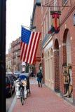 Vie di Boston Immagini Stock